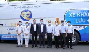 Hội Doanh nhân Trẻ Việt Nam cùng TTC và DHA Healthcare bàn giao xe khám bệnh lưu động cho Sở Y tế TP HCM