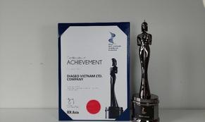 """Diageo Việt Nam được bình chọn là """"Nơi làm việc tốt nhất châu Á"""" năm 2021"""