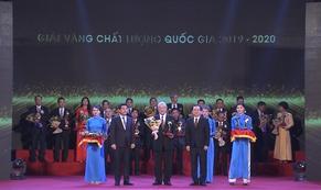 Acecook Việt Nam đạt giải vàng Giải thưởng Chất lượng Quốc gia 2020