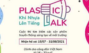 Khởi động cuộc thi truyền thông sáng tạo về môi trường - Plastic Talk