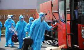 Phú Yên đưa 426 người dân kẹt ở Bà Rịa - Vũng Tàu về quê