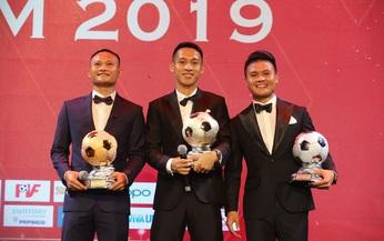 Đỗ Hùng Dũng đoạt Quả bóng Vàng 2019