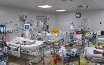Chùm ảnh: Bên trong Bệnh viện Bệnh Nhiệt đới TP HCM đang bị phong tỏa