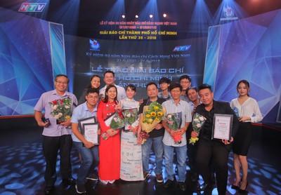 Báo Người Lao Động đoạt 7 giải báo chí TP HCM