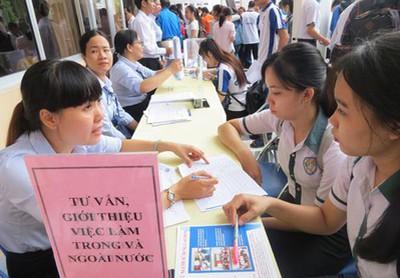 Ngày hội việc làm cho sinh viên