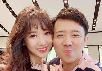 Trấn Thành và Hari Won kỷ niệm 3 năm yêu nhau