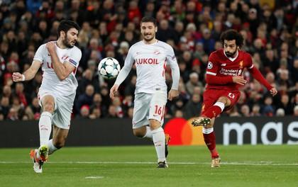 """Liverpool giành vé đi tiếp sau chiến thắng """"7 sao"""""""