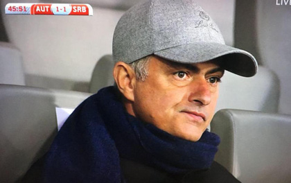 Lộ cầu thủ mà Mourinho xem giò trận Áo - Serbia