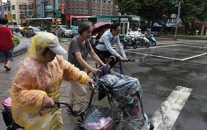 """""""Né"""" Trung Quốc, bão Talim gây mưa lớn nhất 50 năm ở Nhật Bản"""