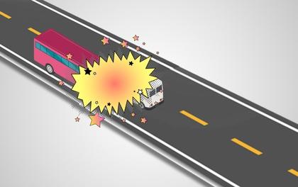 Hai xe khách tông nhau thế nào khiến 6 người chết tại chỗ?