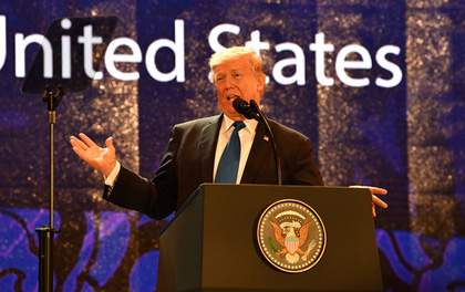 Tổng thống Mỹ ở APEC 2017: Chúng ta không còn là kẻ thù!