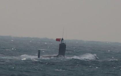 """Tàu ngầm Trung Quốc """"mất mặt"""" vì quá ồn"""