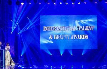 Trao thưởng tại International Talent & Beauty Awards 2018