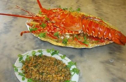 Khám phá món tiết canh tôm hùm - đặc sản Vũng Tàu ngon nức tiếng