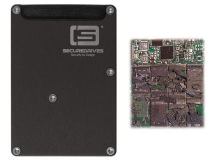 Ổ cứng SSD có khả năng tự hủy chíp nhớ