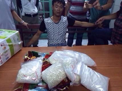 Đánh sập vụ vận chuyển hơn 7 kg ma túy từ Hải Phòng vào TP HCM