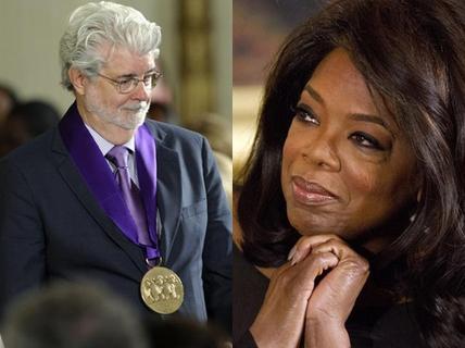 "Đạo diễn Steven Spielberg ""truất ngôi"" Oprah Winfrey"