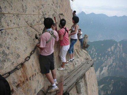 """Đứng tim trên """"bậc thang lên thiên giới"""""""
