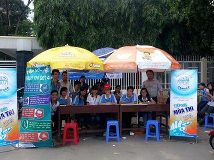 TP HCM: Công ty CP Cấp nước Nhà Bè tiếp sức mùa thi