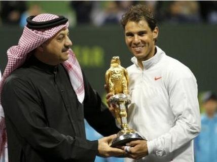 Nadal vô địch Qatar Open 2014