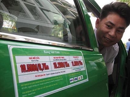 Taxi xin không giảm giá cước