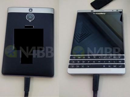 BlackBerry Oslo rò rỉ giống Passport, thân kim loại