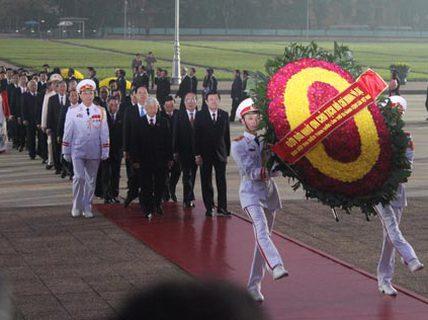 Đại hội Đảng XII chính thức khai mạc
