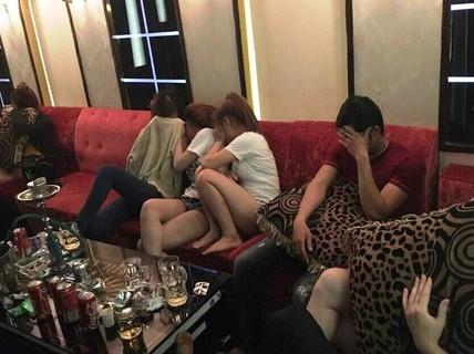 Đột kích quán karaoke có nhiều người sử dụng ma túy