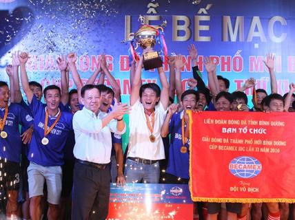 Bình Hòa TPK vô địch Cúp Becamex IDC 2016