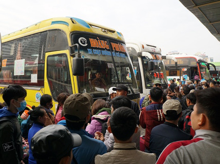 Chuyển tuyến khỏi bến Mỹ Đình, hàng loạt xe từ chối đón khách