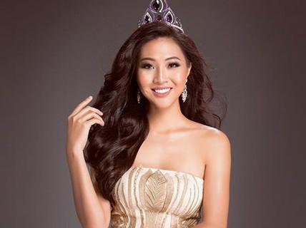 Hoa khôi Diệu Ngọc dự thi Hoa hậu Thế giới 2016