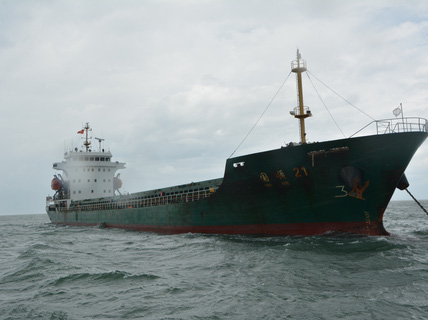 Bắt giữ tàu nước ngoài đâm chìm tàu Thành Đạt 01
