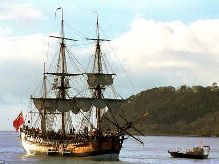 Tìm thấy tàu của thuyền trưởng huyền thoại James Cook