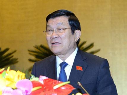 Miễn nhiệm Chủ tịch nước với ông Trương Tấn Sang