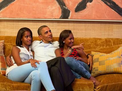 Tổng thống Obama tiết lộ khoảng trời riêng ở Nhà Trắng