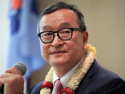 Campuchia bỏ tù Sam Rainsy vì xuyên tạc biên giới với Việt Nam