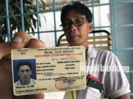 Tài xế trong vụ BOT Cai Lậy được công an trả giấy tờ