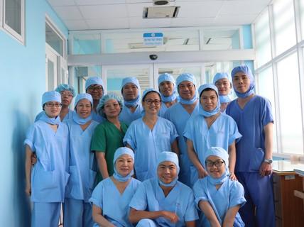 Ca mổ tim tại bệnh viện tuyến huyện đầu tiên cả nước