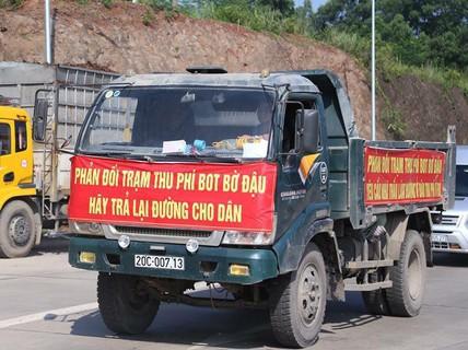 Thái Nguyên kiến nghị dỡ bỏ trạm BOT Bờ Đậu