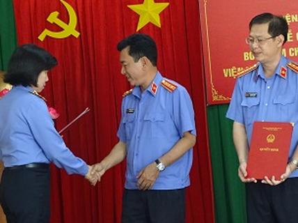 Bổ nhiệm Viện trưởng VKSND huyện Bình Chánh