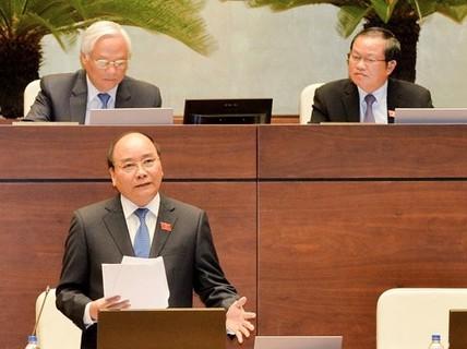 Chất vấn Thủ tướng về bổ nhiệm cán bộ