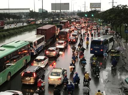 Hôm nay, TP HCM sẽ có mưa lớn