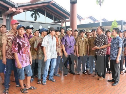 5 tàu cá bị Indonesia bắt giữ trong vùng biển Việt Nam