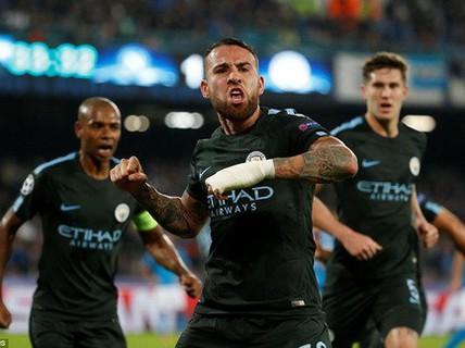 Đại phá Napoli, Man City vào vòng knock-out Champions League