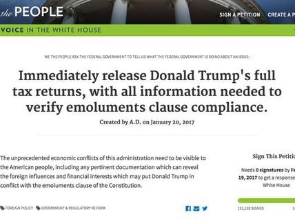 Ông Trump đối mặt áp lực công khai hồ sơ thuế