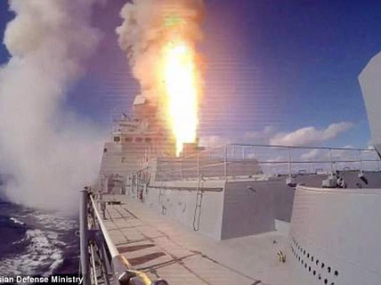Chạy khỏi Raqqa, IS trúng tên lửa Nga