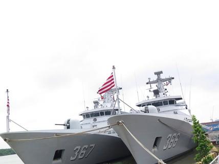 TP HCM đón cùng lúc 2 tàu quân sự Indonesia