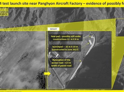 Ảnh vệ tinh tố hành động chưa từng thấy của Triều Tiên