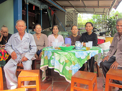 Có một ngôi làng trường thọ ở An Giang