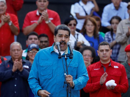 """Ông Maduro """"tái tranh cử"""" tổng thống Venezuela"""